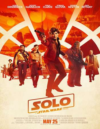 Solo A Star Wars Story 2018 English 600MB BRRip 720p ESubs HEVC