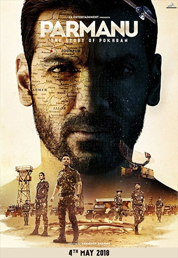 Parmanu The Story of Pokhran 2018 Hindi pDVDRip x264 700MB