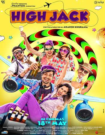 High Jack 2018 Hindi 300MB HDRip 480p