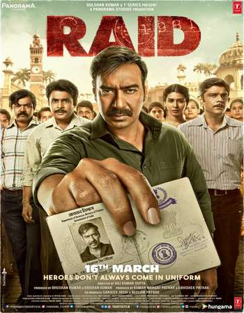 Download Raid (2018) Hindi 720p HDRip x264 AAC ESubs [Audio Fixed] - Downloadhub Torrent