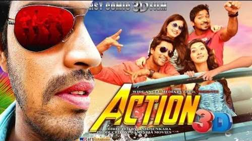 Action 3D 2018 Hindi Dubbed Full Movie Download