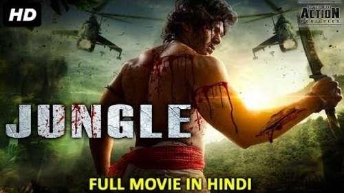 Jungle 2018 Hindi Dubbed 350MB HDRip 480p
