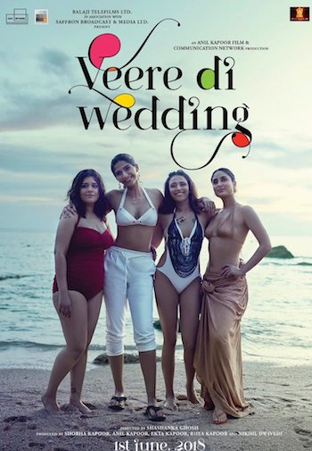 Veere Di Wedding 2018 Hindi pDVDRip x264 700MB