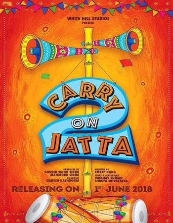 Carry on Jatta 2 2018 Punjabi 200MB Pre-DVDRip HEVC Mobile