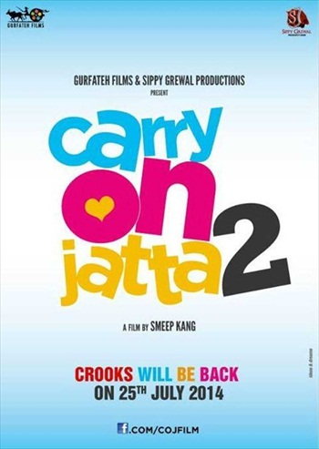 Carry On Jatta 2 2018 Punjabi 480p pDVDRip 400mb