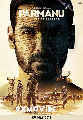 Parmanu 2018 Hindi 720p pDVDRip Audio Cleaned 850mb
