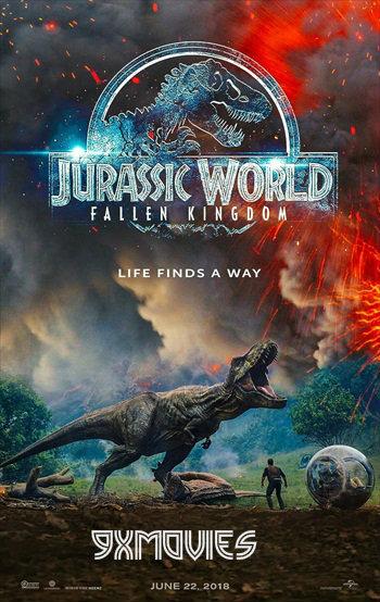 Jurassic World Fallen Kingdom 2018 Dual Audio Hindi 720p HDTS 950mb