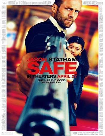 Safe 2012 Hindi Dual Audio BRRip Full Movie Download
