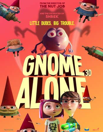 Gnome Alone 2017 English 720p Web-DL 650MB