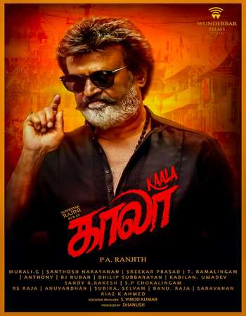 Kaala 2018 UNCUT Hindi Dual Audio HDRip Full Movie 720p Download