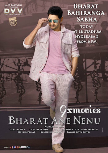 Free Download Bharat Ane Nenu 2018 Telugu 720p  x265 900MB