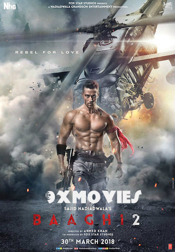 Baaghi 2 (2018) Hindi 720p HDRip 950mb
