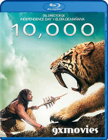 10,000 BC (2008) Dual Audio Hindi Bluray Full 300mb Download