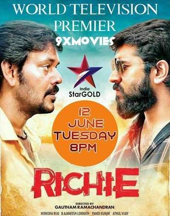 Richie 2018 Hindi Dubbed 720p HDRip 850mb