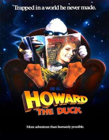 Howard the Duck 1986 Hindi Dual Audio BRRip Full Movie Download
