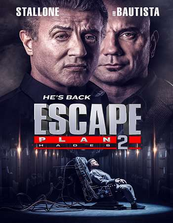 Escape Plan 2 Hades 2018 Hindi Dual Audio BRRip Full Movie 720p HEVC Download