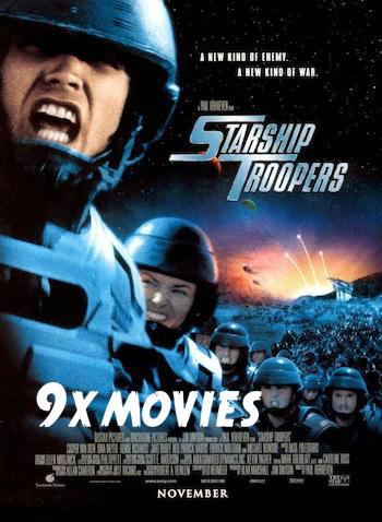 Starship Troopers 1997 Dual Audio Hindi 720p BluRay 900mb