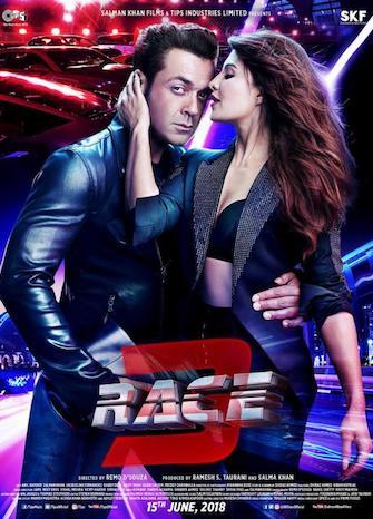 Race 3 (2018) Hindi pDVDRip x264 800MB