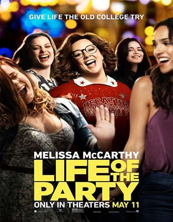 Life of the Party 2018 English 720p Web-DL 800MB