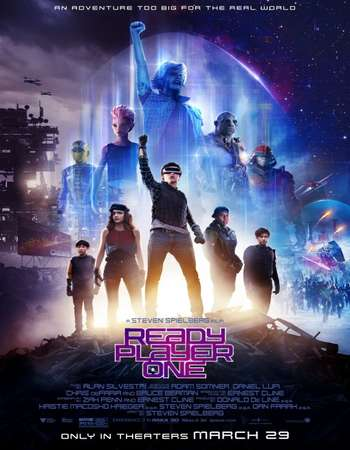 Ready Player One 2018 English 720p WEBRip 1GB MSubs