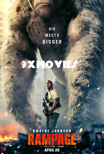Rampage 2018 Dual Audio Hindi 720p HDRip 900mb