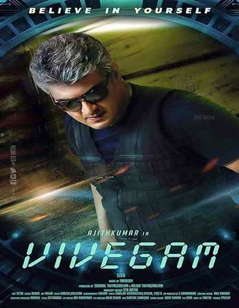 Vivegam 2017 Hindi ORG Dual Audio 250MB UNCUT HDRip HEVC Mobile