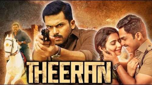 Theeran 2018 Hindi Dubbed 720p HDRip x264