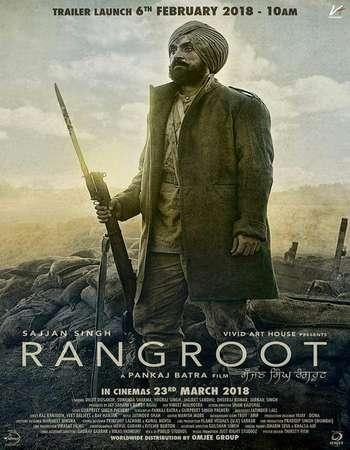 Sajjan Singh Rangroot 2018 Punjabi 720p HDRip HC ESubs