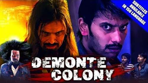 Demonte Colony 2018 Hindi Dubbed 300MB HDRip 480p