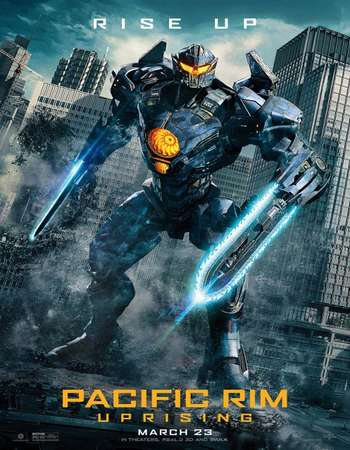 Pacific Rim Uprising 2018 Hindi ORG Dual Audio 180MB BluRay HEVC Mobile ESubs