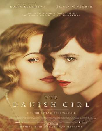 The Danish Girl 2015 Hindi ORG Dual Audio 350MB BluRay 480p ESubs