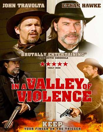 In a Valley of Violence 2016 Hindi Dual Audio BRRip Full Movie 300mb Download