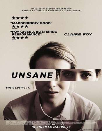 Unsane 2018 Hindi ORG Dual Audio 160MB BluRay HEVC Mobile ESubs