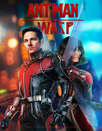 Ant Man and the Wasp 2018 Hindi Dual Audio BRRip Full Movie 480p Free Download