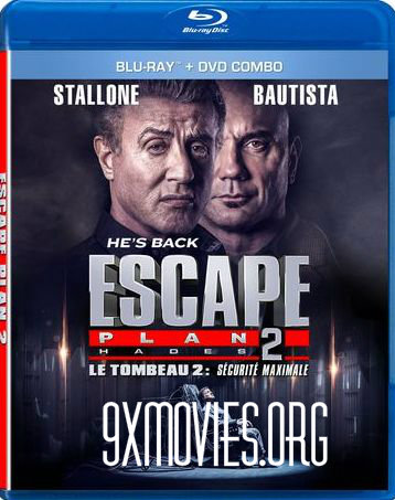 Escape Plan 2 Hades 2018 Dual Audio Hindi Bluray Full 300mb Download
