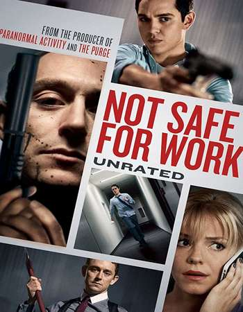 Not Safe for Work 2014 Dual Audio 720p UNRATED BluRay [Hindi – English]