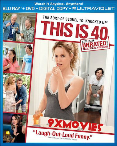 This Is 40 (2012) UNRATED Dual Audio Hindi Bluray Movie Download