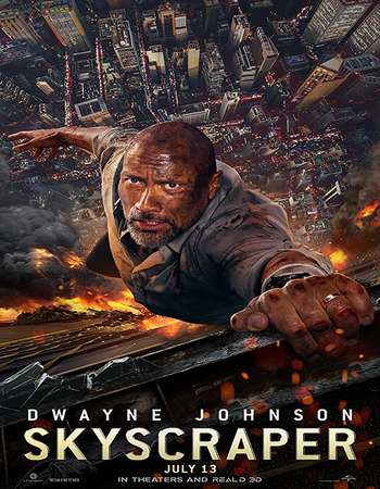 Skyscraper 2018 Dual Audio 720p HDCAM [Hindi – English]
