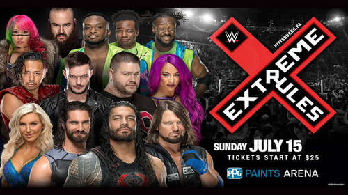 WWE Extreme Rules 15th July 2018 Full Show 720p Free Download