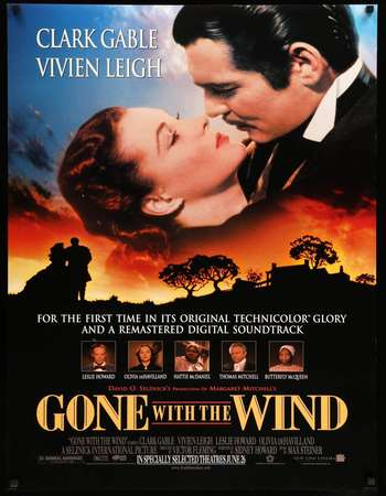 Gone with the Wind 1939 Hindi Dual Audio BRRip Full Movie 720p HEVC Download