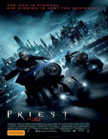 Priest 2011 Hindi Dual Audio 450MB BluRay 720p ESubs HEVC