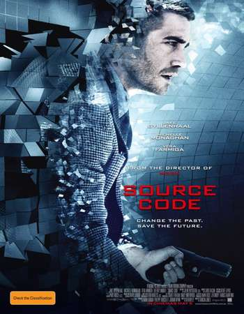 Source Code 2011 Hindi Dual Audio 450MB BluRay 720p ESubs HEVC
