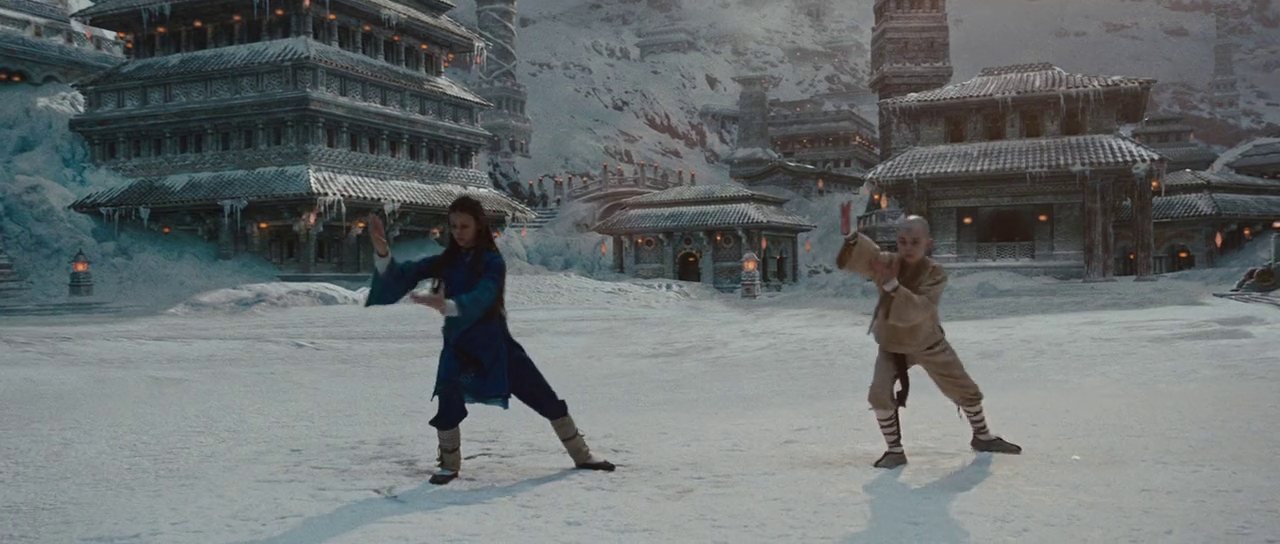 Download The Last Airbender Movie (2010) Dual Audio [Hindi - English] BluRay 720p {800MB}