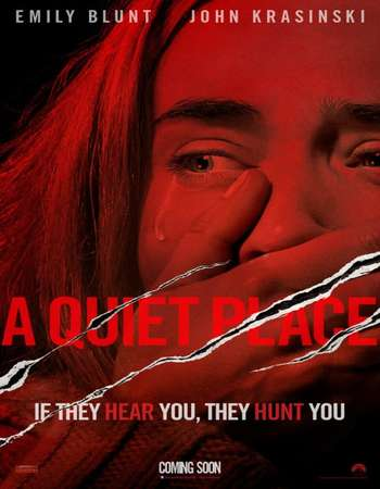 A Quiet Place 2018 Hindi Dual Audio 450MB BluRay 720p ESubs HEVC