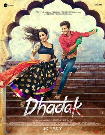 Dhadak 2018 Full Hindi Movie 720p HEVC Free Download