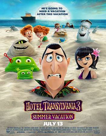 Hotel Transylvania 3 Summer Vacation 2018 Hindi Dual Audio 450MB HC HDRip 720p HEVC