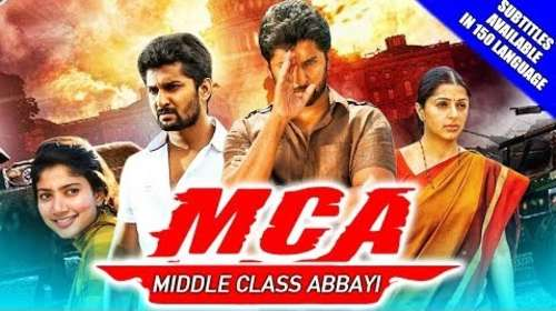 MCA 2018 Hindi Dubbed 300MB HDRip 480p