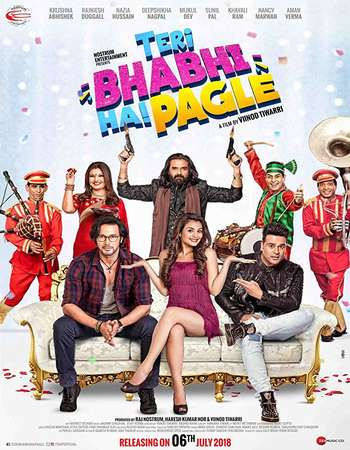 Teri Bhabhi Hai Pagle 2018 Full Hindi Movie 720p HDRip Free Download