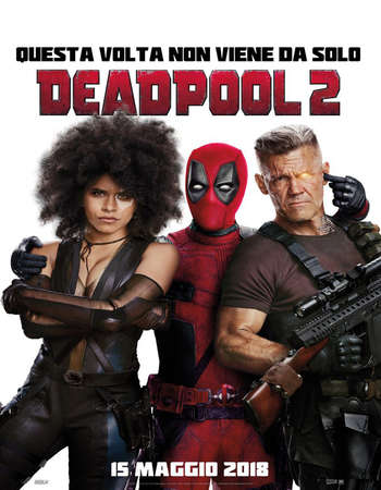 Deadpool 2 2018 Hindi ORG Dual Audio 650MB Super Duper Cut BluRay 720p ESubs HEVC