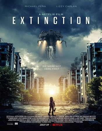 Extinction 2018 English 720p WEBRip 750MB MSubs